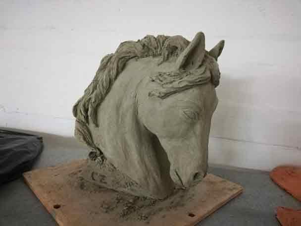 cavallo-argilla